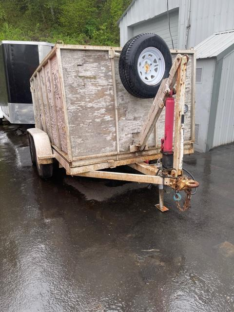 1991 Homemade Manual Dump Trailer
