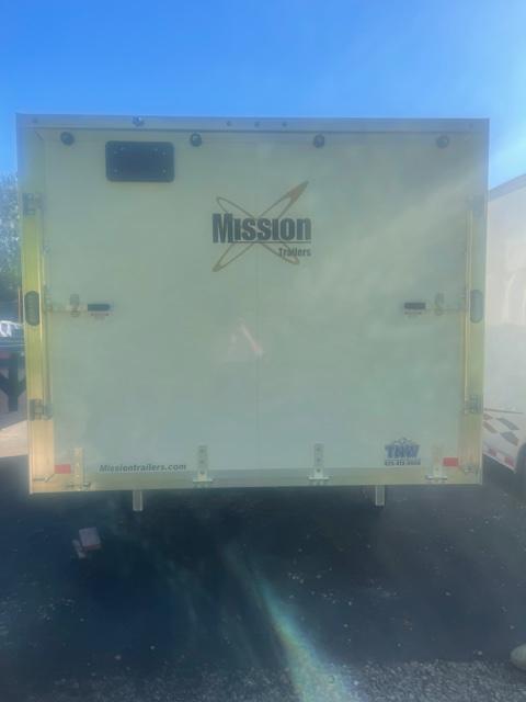 2022 Mission 101 X 12 DL Snowmobile Trailer