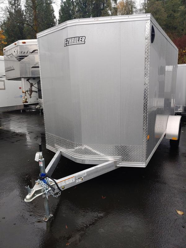 2021 E-ZH Hauler 6 X 12 Enclosed Cargo Trailer