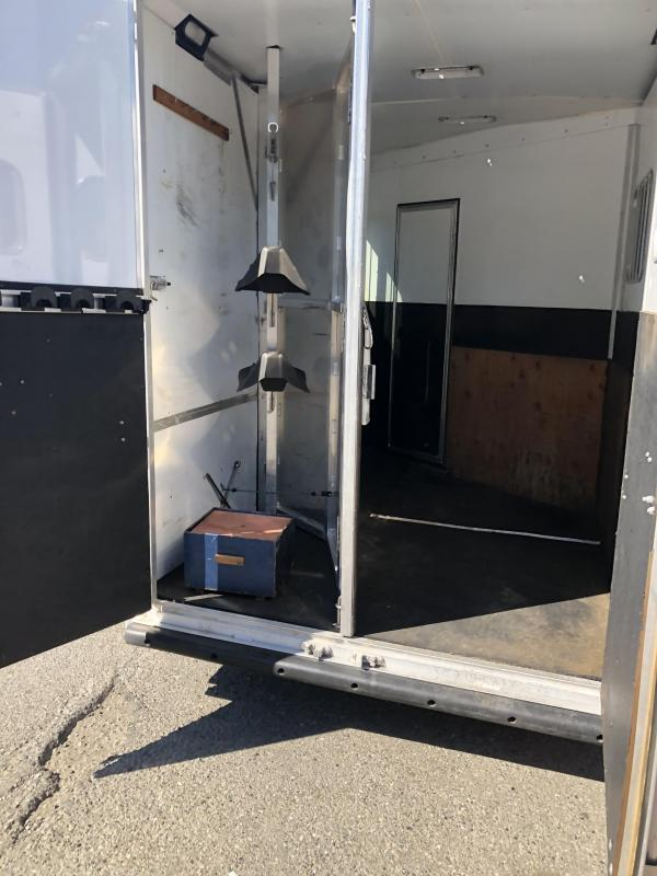 2014 Exiss Trailers GN 2 Horse Trailer