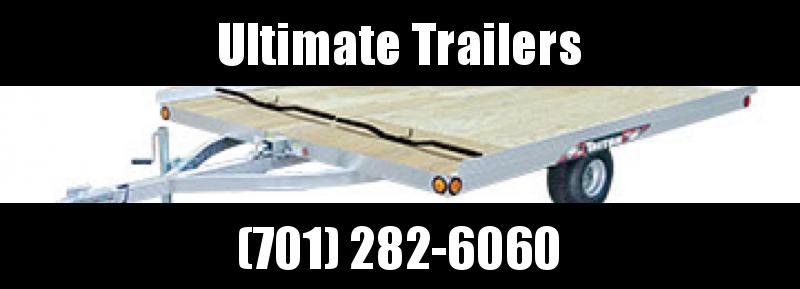 2020 Triton 8.5' x 10' 2 Place Triton Aluminum Tilt Snowmobile Trailer - XT10 Series