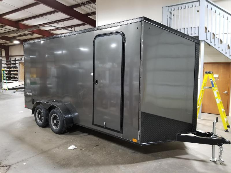 2022 Impact Trailers Shockwave B/O Slope V-nose Cargo / Enclosed Trailer