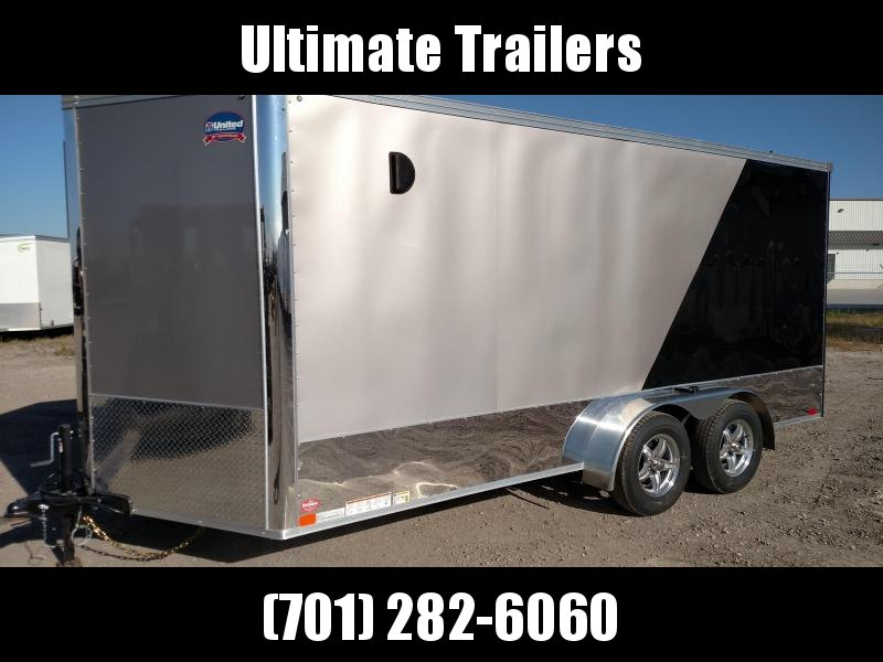 2022 United Trailers XLMTV716TA35-8.5-S Motorcycle Trailer