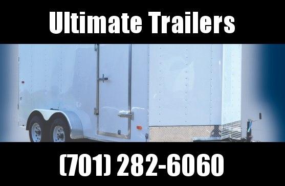 2021 Impact Trailers Quake Slope V-nose Cargo / Enclosed Trailer