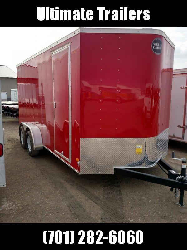 2021 Wells Cargo FT716 Enclosed Cargo Trailer