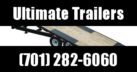 2021 PJ Trailers T8 22' Deckover Tilt Equipment Trailer