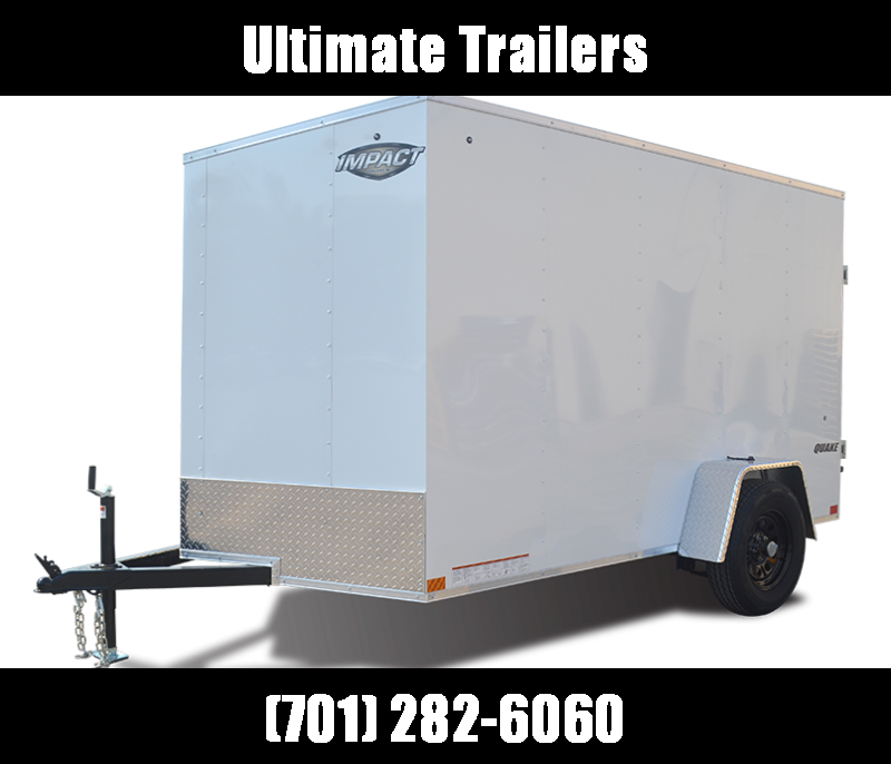 2022 Impact Trailers Quake Slope V-nose Cargo / Enclosed Trailer