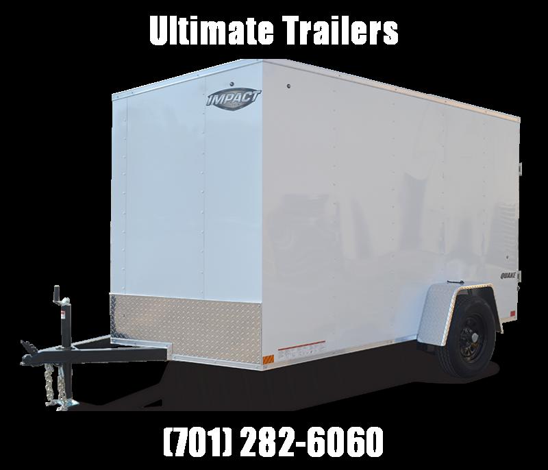 2022 Impact Trailers Quake Slope V-nose Cargo / Enclosed Trailer