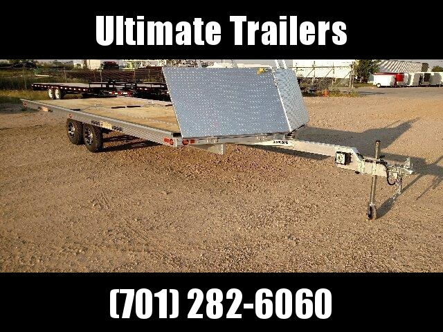 2020 22' Beartack 4 Place Snowmobile Trailer