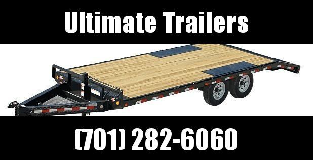 2021 PJ Trailers PJ F8 Series 24' Deckover Trailer Equipment Trailer