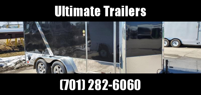 2022 United Trailers XLMTV714TA35-8.5-S Motorcycle Trailer