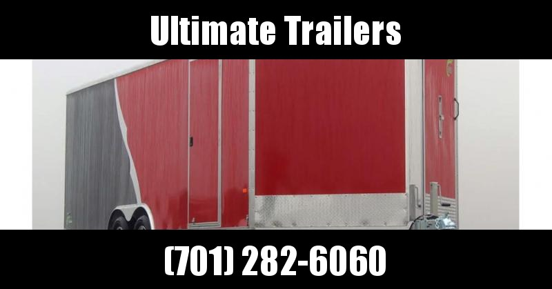 2022 NEO Trailers NCVR Round Top Combo Auto Trailer