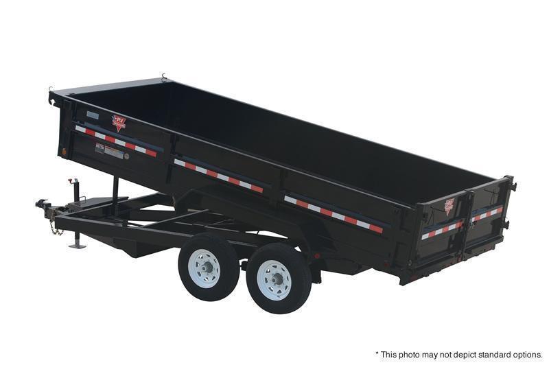 2021 PJ Trailers 83 Wide Dump - DL Series Dump Trailer