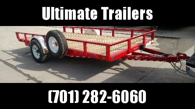 2021 PJ Trailers U8 Utility Trailer Utility Trailer