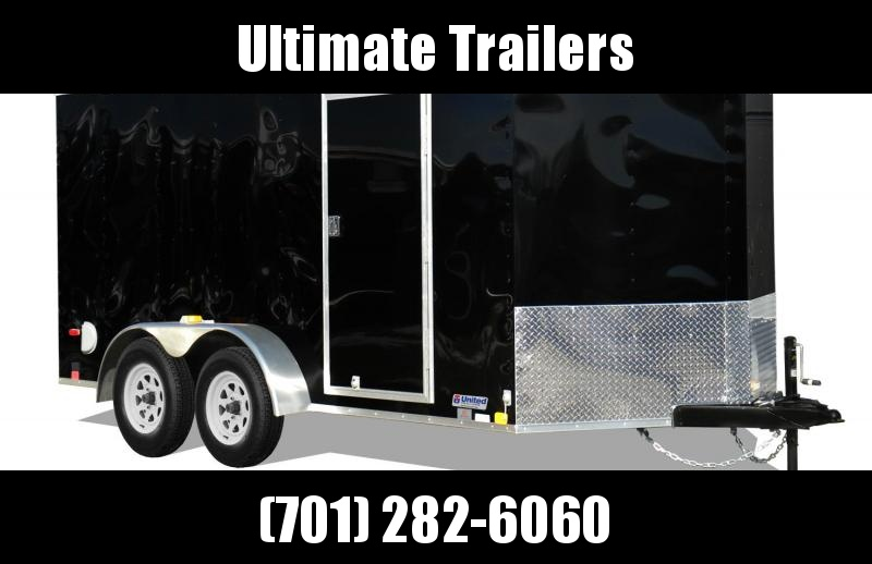 2021 United Trailers XLV714TA35-8.5-S Enclosed Cargo Trailer