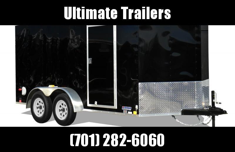 2022 United Trailers XLV714TA35-8.5-S Enclosed Cargo Trailer