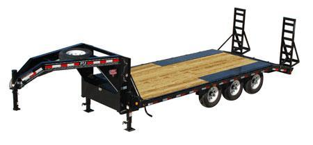 2021 PJ Trailers 8 I-Beam Deckover (F8) Equipment Trailer