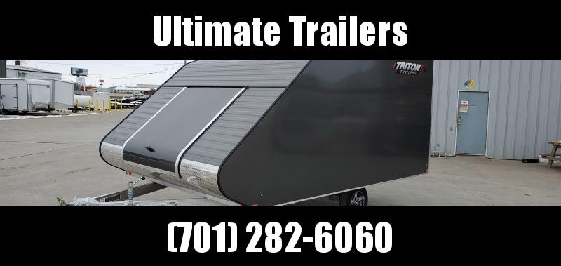 2021 Triton 8.5x12 Aluminum Triton Snowmobile Trailer TC Series