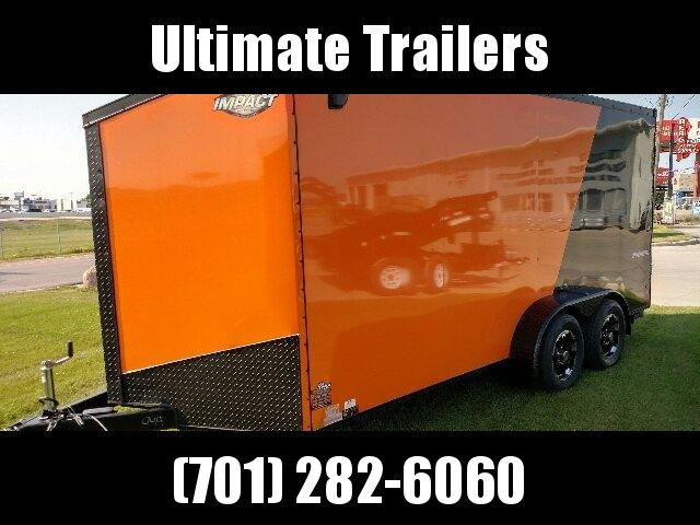 2020 Impact Trailers ISCBB712TE2FF Enclosed Cargo Trailer
