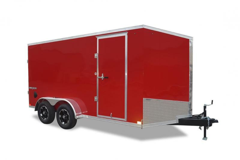 2022 Impact Trailers Shockwave  Slope V-nose Cargo / Enclosed Trailer
