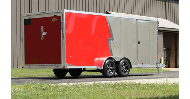 2021 NEO Trailers NASF Flat Top All Sport Trailer