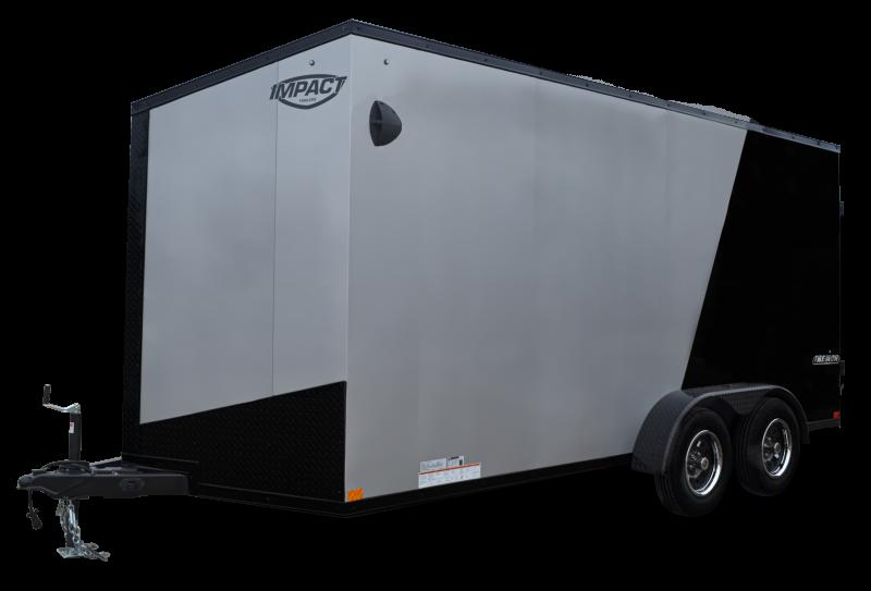 2022 Impact Tremor Blackout Series Enclosed Cargo Trailer