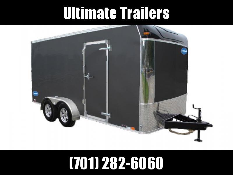 2021 United Trailers UXT Series Enclosed Cargo Trailer