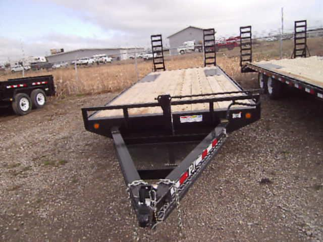 2021 PJ Trailers 8 I-Beam 20' Deckover (F8) Equipment Trailer