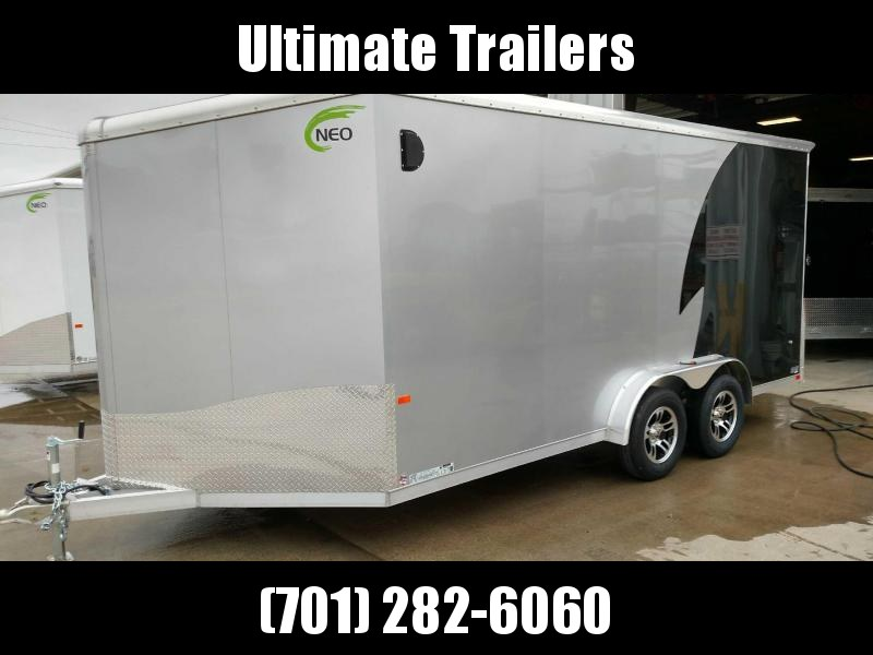 2021 NEO Trailers NAM1675TR80A Enclosed Cargo Trailer