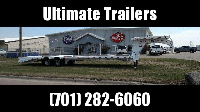 2021 PJ Trailers -  Low-Pro Gooseneck with Duals (LD) Equipment Trailer