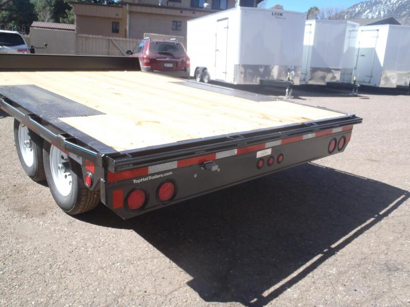 Top Hat Trailers 96X12 Utility Trailer Deck Over