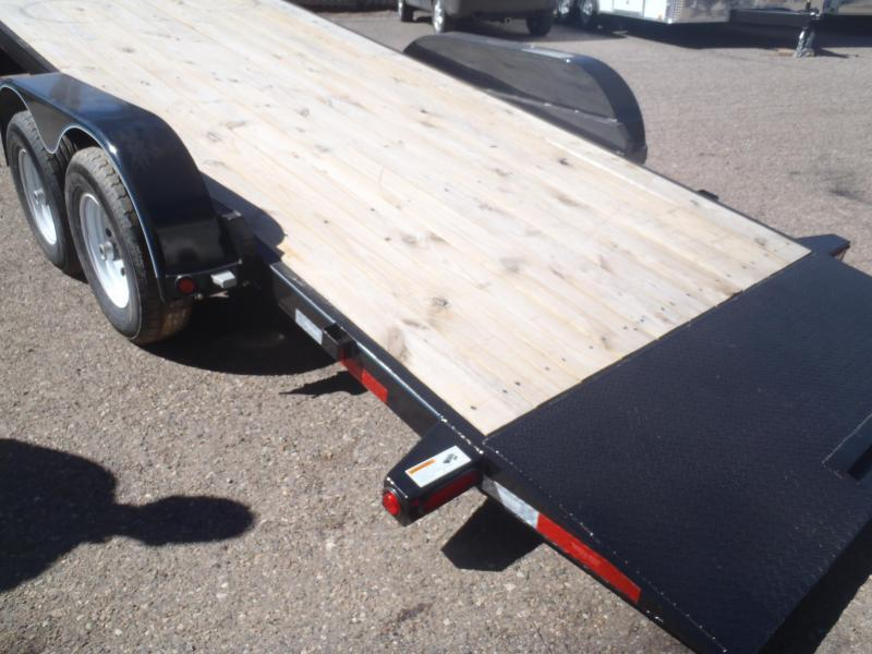 83X18 10K Tilt Carhauler Equipment Trailer