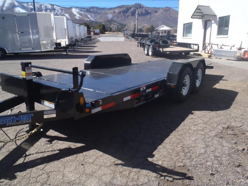 83X20 14K Tilt STEEL Deck Equipment Trailer