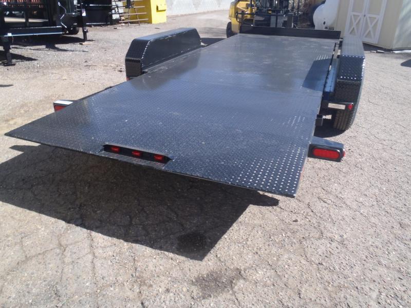 83X20 14K Tilt STEEL Deck Equipment Trailer