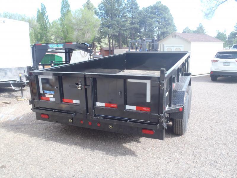 7' X 16' 14000 lb G.V.W. Dump Trailer Low Profile