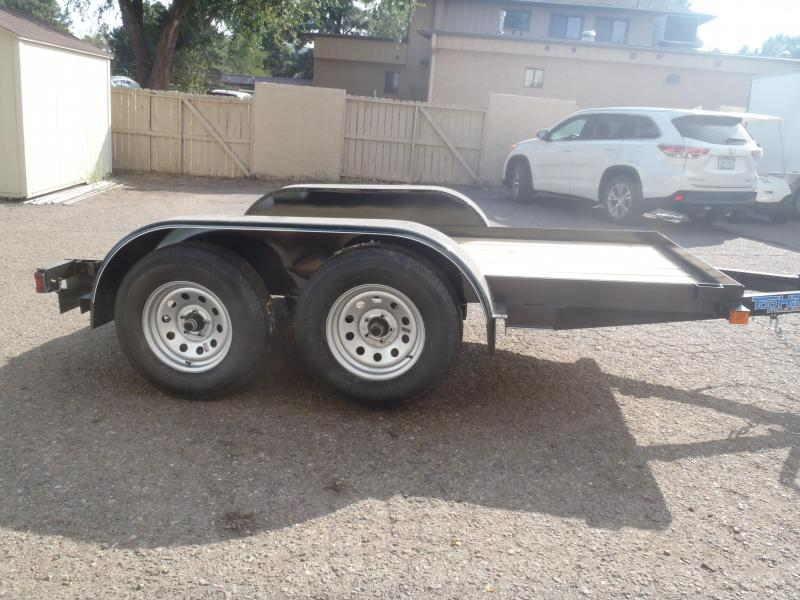5x10 Tandem Axle Flatbed Utility Trailer