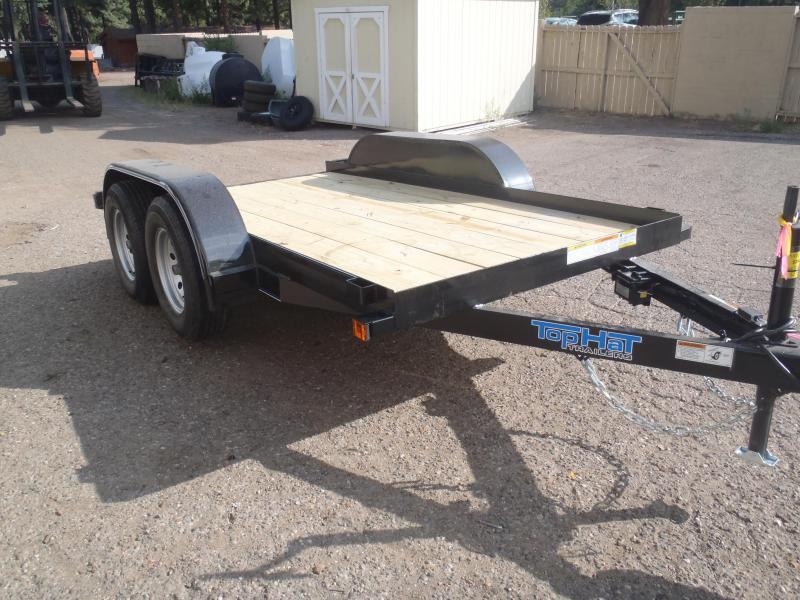 5x10 Tandem Axle Flatbed Utility Trailer