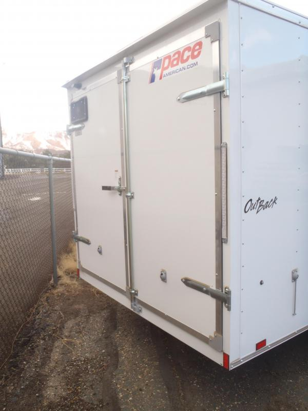 7X16 ST Cargo Enclosed Barn Doors