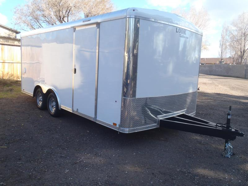 "8.5X18 6'6"" Tall Look Trailers Vision Cargo / Enclosed Trailer"