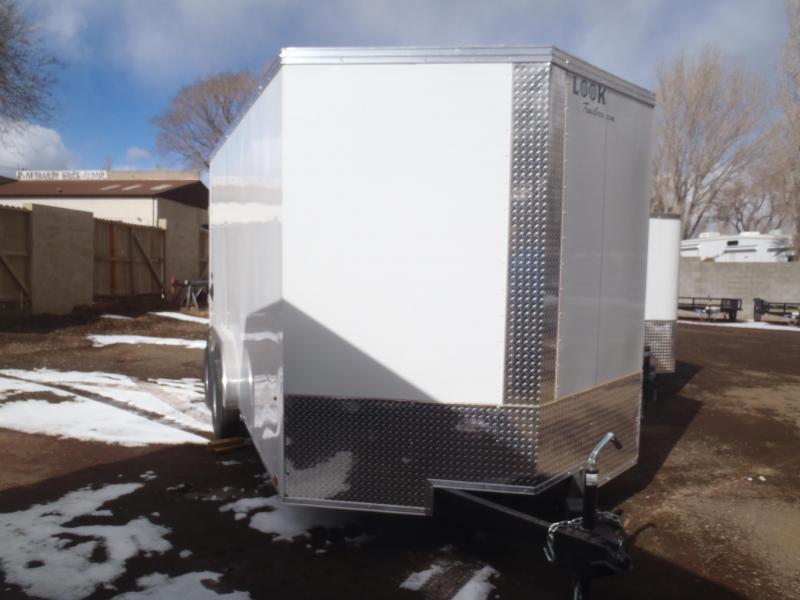 7.5X16 Element Cargo Enclosed Cargo 7' Tall Roadside side door