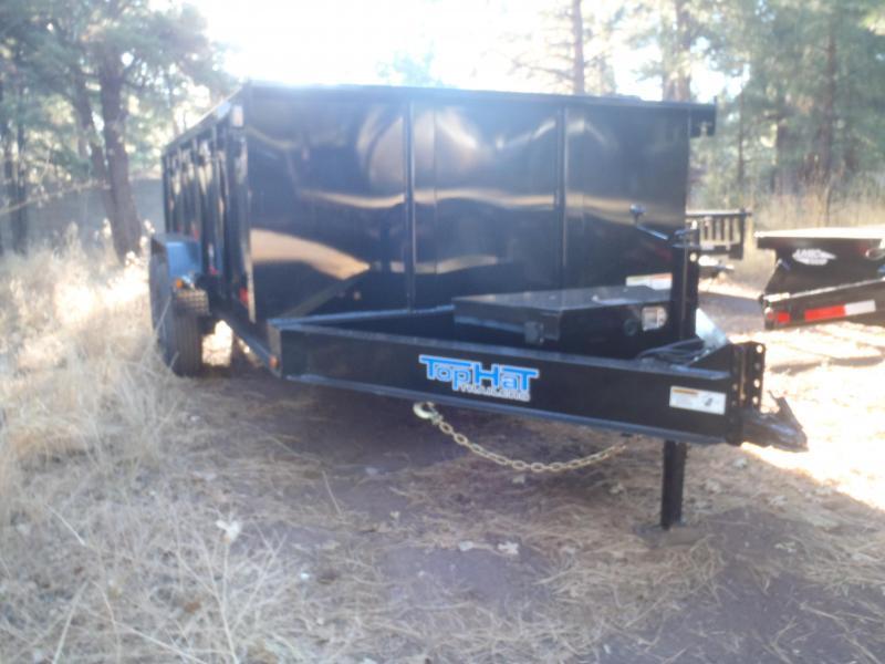 7' X 14' 14000 lb G.V.W. 3' Sides Dump Trailer Low Profile