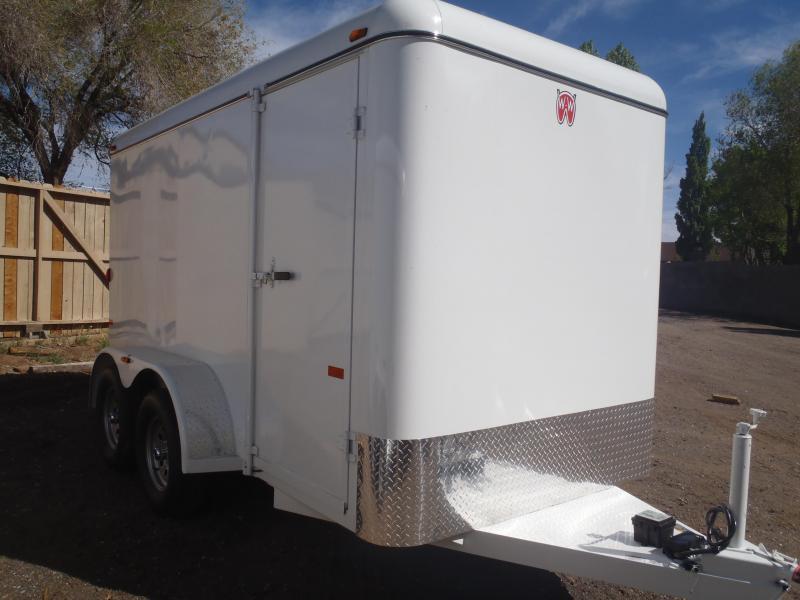 W-W Trailer 6.8X16 Cargo Carrier Enclosed Cargo Trailer