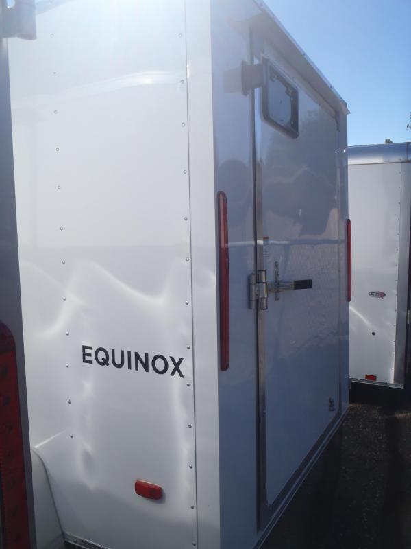 6x10 Equinox Enclosed Trailer Single Rear Door