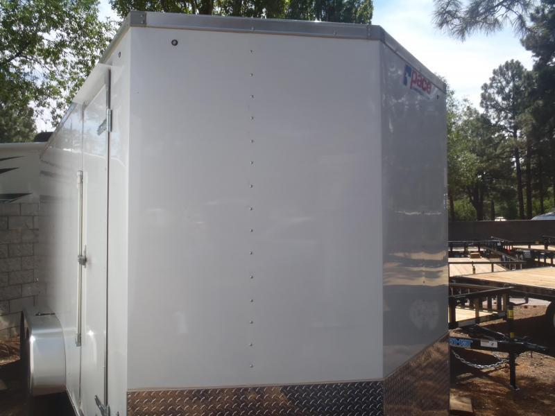 7X14 OB Cargo Enclosed Cargo 7' Tall Ramp