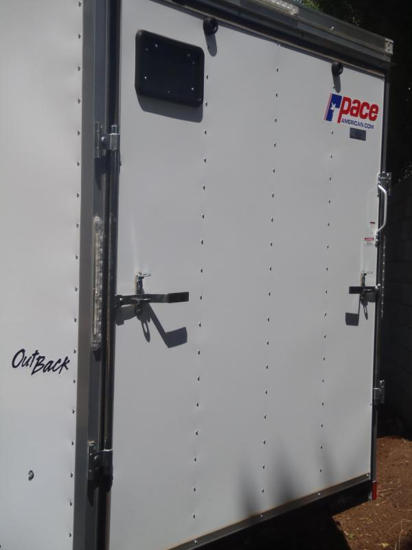 7X14 OB Cargo Enclosed Cargo 7' Tall Ramp