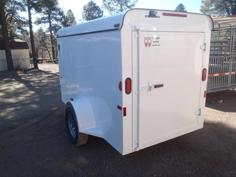 2021 W-W Trailer 5X10 Mini Cargo Enclosed Cargo Trailer