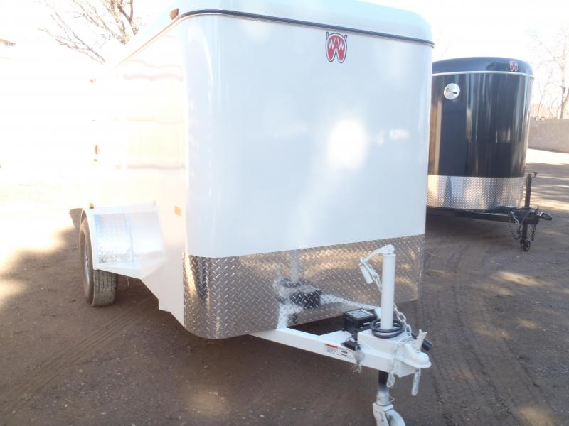 2021 W-W Trailer 5X10 Mini Cargo Enclosed Cargo Trailer