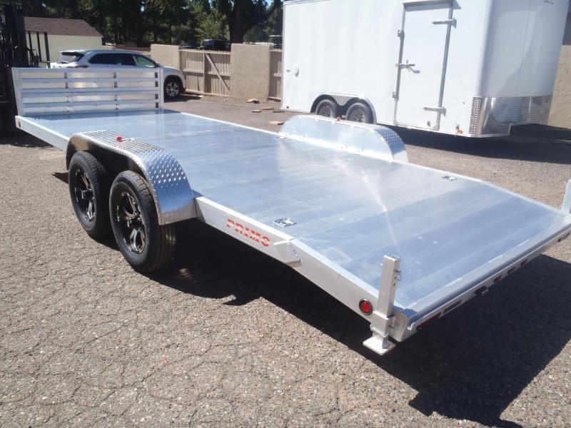 83 X 18 Aluminum Carhauler / Racing Trailer 7000# GVW