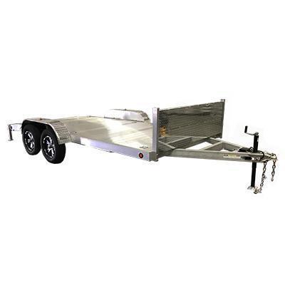83 X 16 Aluminum Carhauler / Racing Trailer 7000# GVW