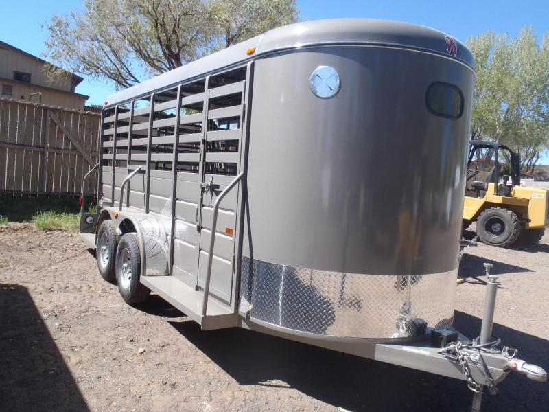 """6x16 All around Stock Trailer 6'2"""" Tall"""